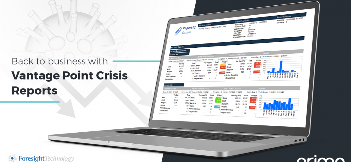 back to business with Vantage Point Crisis Reports