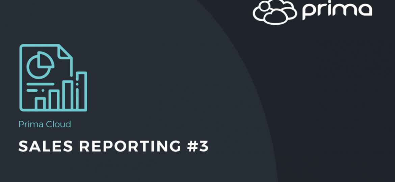 Sales Reporting #3
